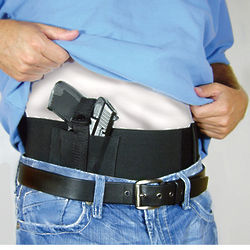 Waist Wrap Holster with 2 Mag Pockets