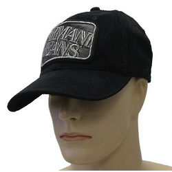 Armani Jeans Black Cotton Hat