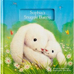 Personalized Snuggle Bunny Book