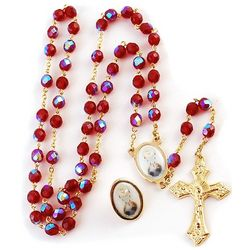Confirmation Rosary with Lapel Pin