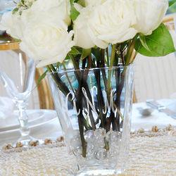Hand Blown Personalized Friendship Vase