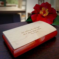 Inspiration Box with Maya Angelou Quote