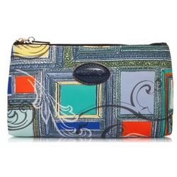 Zippered Nylon Cosmetic Case