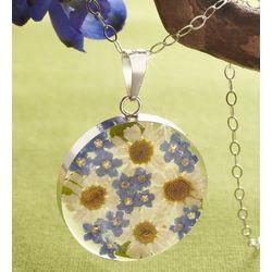 Fresh Daisy Circle Necklace