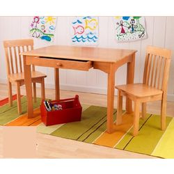 Honey Avalon Table & 2 Chair Set