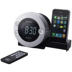 iPhone, iPod, and Radio Alarm Clock