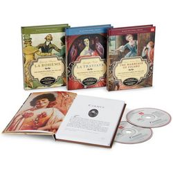 Classic Opera Books and CDs Set
