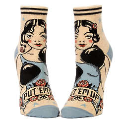 Put 'em Up Ankle Socks