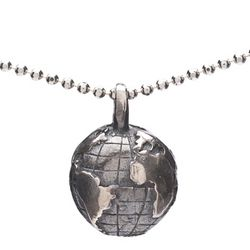 Peace On Earth Globe Necklace