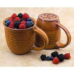Stoneware Berry Colander