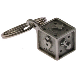Lucky Dice Key Ring
