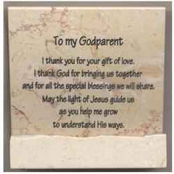 Godparent Prayer Stone