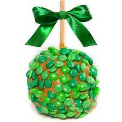 Luck of the Irish Caramel Apples