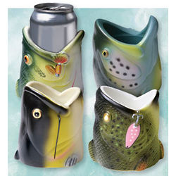 Fish Head Can Cooler Set