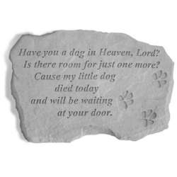 Have You a Dog in Heaven, Lord Memorial Stone