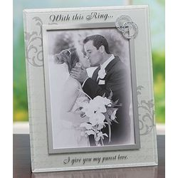 With This Ring Photo Frame