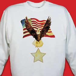 Personalized American Eagle Sweatshirt