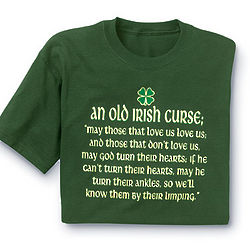 Old Irish Curse T-Shirt