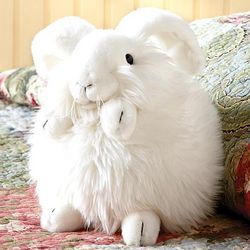 Fluff the Bunny Stuffed Toy