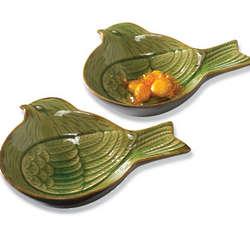 Ceramic Bird Bowls