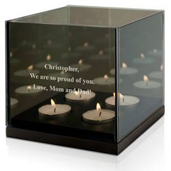 Double Reflective Tealight Candle Holder