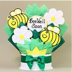 Bee Well Soon Cookie Bouquet