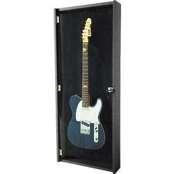 Electric Guitar Black Display Case