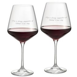 Aria Red Wine Glasses Set