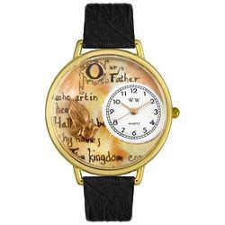 Lord's Prayer Gold Watch