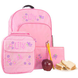 Little Scholar School Supplies Set in Pink