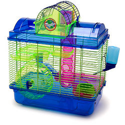 Hamster Home and Traveler Cage