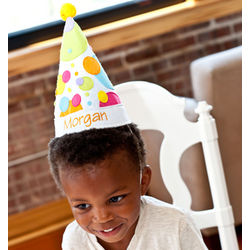 Personalized Kid's Party Hat