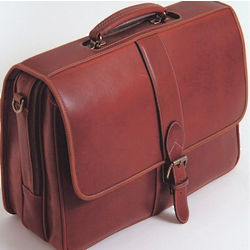 Top Zip Flap Over Briefcase