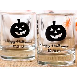Personalized Halloween Votive Holders
