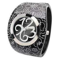 Midnight Flowers Bracelet Watch