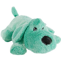 Mint Green Plush Dog with Squeakers