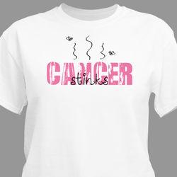 Cancer Stinks Awareness T-Shirt