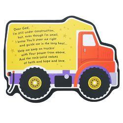 Under Construction Truck Plaque