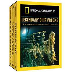 Mysteries of the Deep - Legendary Shipwrecks DVD Set