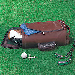 Personalized Leather Golf Bag Organizer