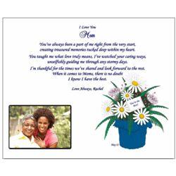 Personalized Poetry Print for Mom