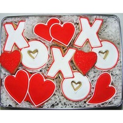Hugs and Kisses Sugar Cookie Gift Tin