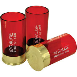 12 Gauge Shot Glasses Set