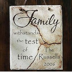 Personalized Family Slate
