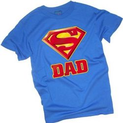Super Dad Shield Adult T-Shirt