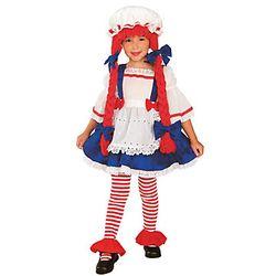 Rag Doll Girl's Costume