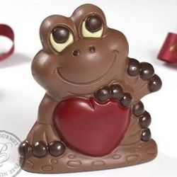 Vegan Chocolate Valentine's Day Frog
