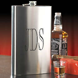 Jumbo Personalized Flask