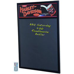 Harley-Davidson Lighted Marquee Message Board
