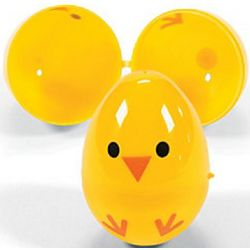Plastic Chick Easter Eggs